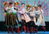 Узорны вакальна-харэаграфічны ансамбль «Камарыкі» імя Чэслава Клячко. Фотаздымак з сайта http://www.novopolotsk.by/