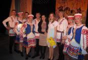 Удзельнікі народнага ансамбля танца «Спадчына». г. Орша. Фотаздымак з сайта http://gdkorsha.ru