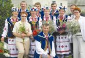Народны ансамбль песні «Прызбачка» Валкалацкага СДК. Фотаздымак з сайта http://nspaper.by
