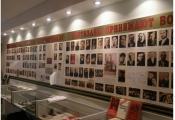 Экспазіцыя музея воінскай славы Варонаўскай сярэдняй школы. Фотаздымак з сайта http://voronyschool.ucoz.com/