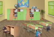 Школьная мэбля. Фотаздымак з сайта http://postavymebel.by/