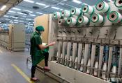 Размотачна-круцільны цэх ААТ «Полацк-Шкловалакно». Фоатаздымак з сайта http://belgid.by