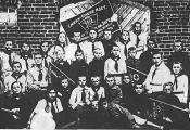 Першая піянерская арганізацыя ў пасёлку Барань. 1924 г.
