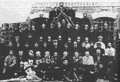Дабраахвотная пажарная дружына ў пасёлку Барань. 1933 г.