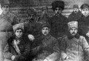 Члены Браслаўскага ваенна-рэвалюцыйнага камітэта. 1919 г.