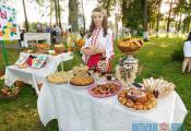 На «Фестывалі дзвюх рэк» у Докшыцах. Фотаздымак з сайта http://www.vitebsk-region.gov.by