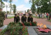 Святкаванне Дня Незалежнасці Рэспублікі Беларусь у Гарадку. Фатаграфія з сайта  http://www.garadvest.by