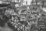 Дэманстрацыя 7 лістапада 1918 года ў Гарадку