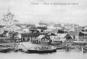 Орша. Від з Задняпроўя на горад. Фатаграфія з сайта http://orshatut.by/