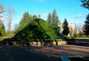 Орша, курган неўміручасці ў парку герояў. Фатаграфія з сайту http://www.orshanka.by