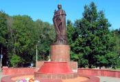 Помнік Еўфрасінні Полацкай у Полацку. Фотаздымак з сайта http://allby.tv