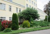 Полацкая цэнтральная гарадская паліклініка. г. Полацк. Фотаздымак з сайта http://polmed.by