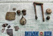 Артэфакты з археалагічнага комплексу Кардон. Фота з сайта http://vitvesti.by
