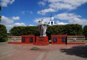 Брацкая магіла (1941-1944 гг.) г. Чашнікі. Фотаздымак з сайта http://chashniki.vitebsk-region.gov.by