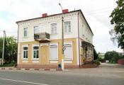 Забудова вуліцы Леніна, дом № 5, г.Глыбокае. Фотаздымак з сайта http://spadchyna.glubmusej.by