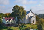 Сучасны будынак касцёла святога Антонія Падуанскага г. Талачын. Фотаздымак з сайта http://www.fotobel.by