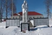 Помнік землякам у вёсцы Вялікі Поўсвіж. Фотаздымак з сайта http://foto-planeta.com