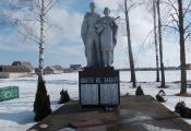 Помнік землякам у вёсцы Стары Лепель. Фотаздымак з сайта http://foto-planeta.com