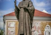 Помнік Мікалаю Цудатворцу. г. Полацк. Фотаздымак з сайта https://www.rutraveller.ru