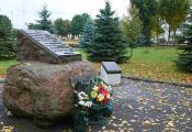 Памятны знак воінам-інтэрнацыяналістам у гарадскім парку г. п. Шуміліна. Фота з сайта http://www.fotobel.by