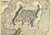 Крэпасць Суша, з гравюры 1579 года. Фотаздымак з сайта http://www.vostlit.info