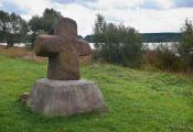 Галошаўскі каменны крыж. Фотаздымак з сайта http://www.fotobel.by