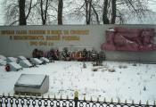 Помнік на брацкай магіле, в. Шапуры. Віцебскі раён. Фотаздымак з сайта http://pomnim.vymno.of.by/