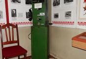 Музейны экспанат. Стары апарат сувязі. Фотаздымак з сайта http://www.lepel.by