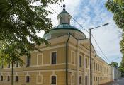 Будынак, у якім размешчаны музей беларускага кнігадрукавання. г. Полацк. Фотаздымак з сайта https://planetabelarus.by