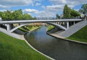 Віцебск. Мост праз Віцьбу. Фатаграфія з сайта https://ru.wikipedia.org/