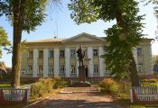Сенненскі раён. Гарадскі пасёлак Багушэўск. Фотаздымак з сайта http://www.fotobel.by