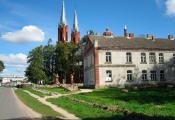 Браслаўскі раён. Гарадскі пасёлак Відзы. Фатаграфія з сайта http://mapio.net